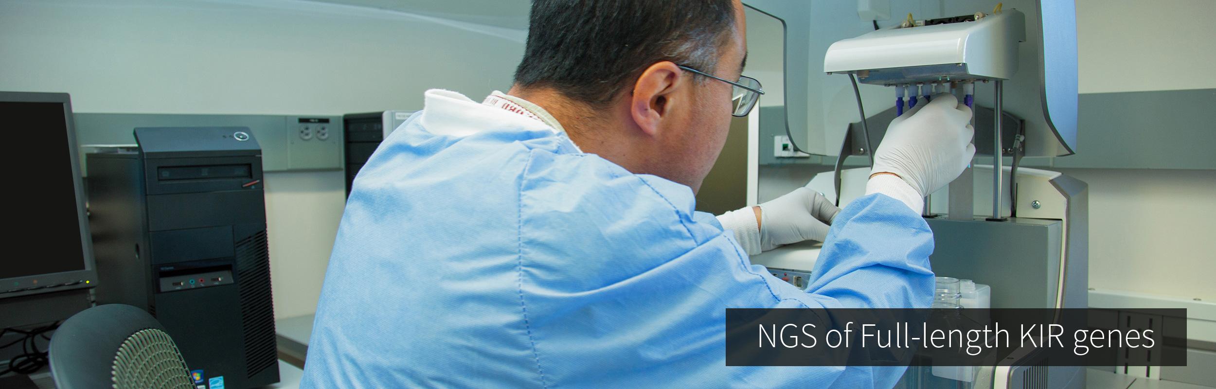 NGS of Full-length KIR Genes
